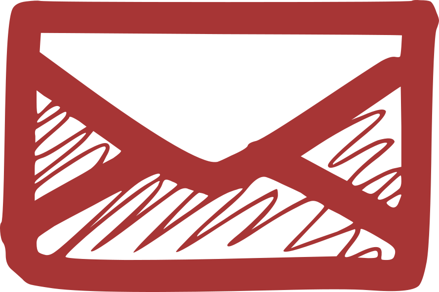 mail icon red