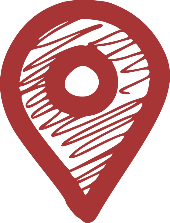 pin icon red